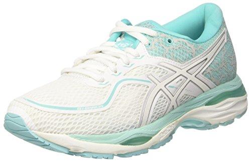 Asics GEL-Cumulus 19 Lite-Show [T8A6N-0193] Women Running Shoes White/Aluba Blue