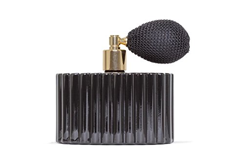 L'atomiseur 100ml Essential atomiseur Co. cannelée Black Gloss avec ampoule