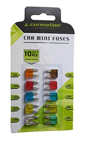 Preisvergleich Produktbild Mini Flachsicherungen KfZ Sicherungen 11mm