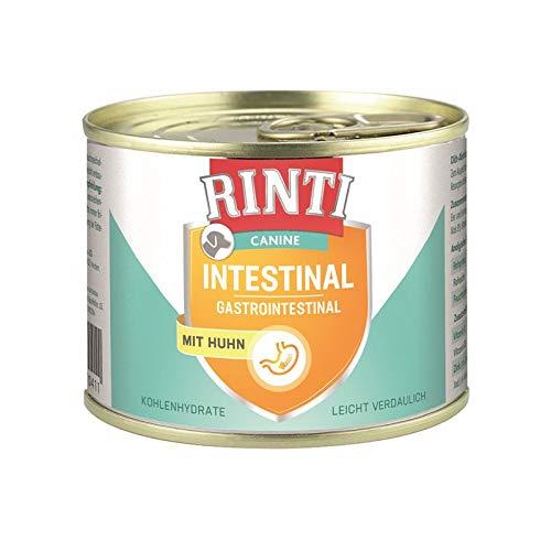 Rinti Canine Intestinal Huhn   12x 185g Diät-Hundefutter