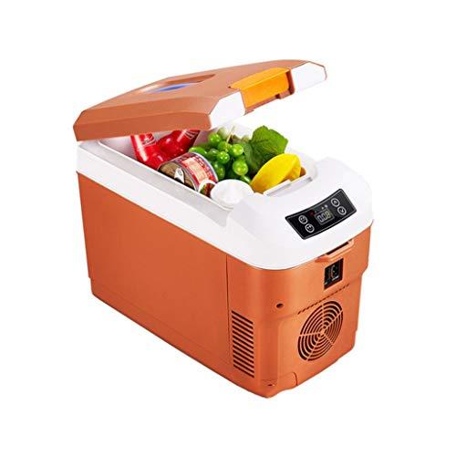 waart 12 liter draagbare thermo-elektrische koelbox geluidloos 12/24 V en 220 V voor auto en stopcontact, ideaal voor outdooractiviteiten in de tuin, barbecue picknick camping