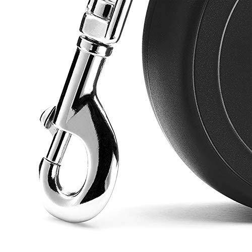 flexi Roll-Leine New Classic S Seil 8 m schwarz für Hunde bis max. 12 kg - 4