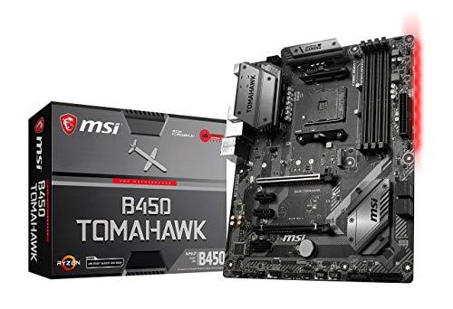 MSI Arsenal Gaming AMD Ryzen 2ND und 3rd Gen AM4 M.2 USB 3 DDR4 DVI HDMI Crossfire ATX Motherboard (B450 Tomahawk Max) (B450TOMAMAX)