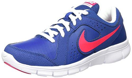 Nike Flex Experience LTR (GS), Zapatillas de Running Niñas, Azul/Rosa/Blanco (Insignia Blue/Vivid Pink-White), 37 1/2