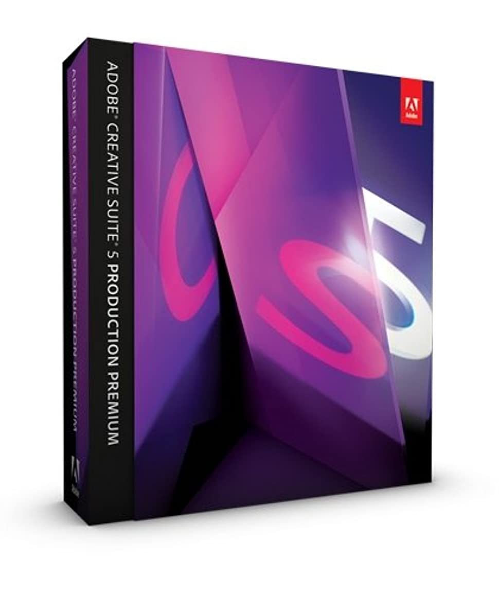 干渉する溶けた健全Adobe Creative Suite 5 Production Premium Windows版 (旧製品)