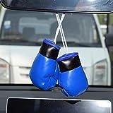 Urhause Mini guante de boxeo para coche, talla única, espejo retrovisor, llavero, decoración, autógrafo, miniguantes de boxeo, espejo retrovisor, regalo para coche, Rusia o casa