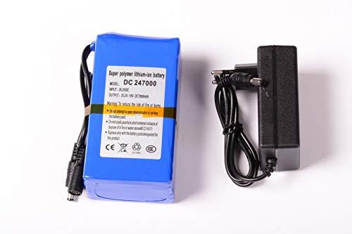 aftertech Paquete batería 24V 7000mAh 24V Recargable Litio f2e4