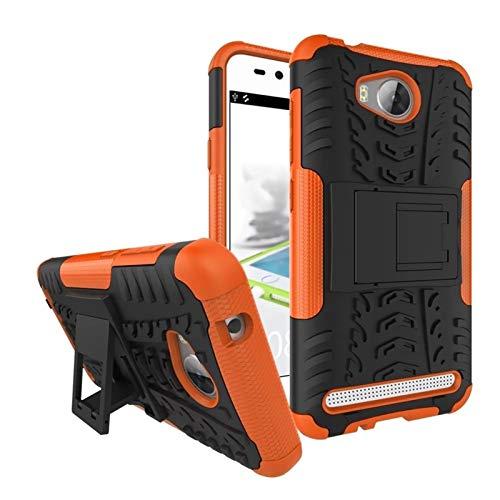 HHF cellulari Accessori per Huawei y3ii / Y3 II 2 LUA L21 U22, Covers Borsa Dura del PC + Silicone Telefono Indietro per Huawei Y 3 II 2 3II LUA-L21 LUA-U22 (Colore : Clear, Materiale : PC)