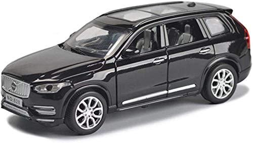 Coches a Escala Modelo de automóvil Volvo XC90 del camino SUV vehículo Die uno y treinta y dos de simulación de fundición de aleación de juguete de sonido y tire de la Luz Volver Gran regalo para el D