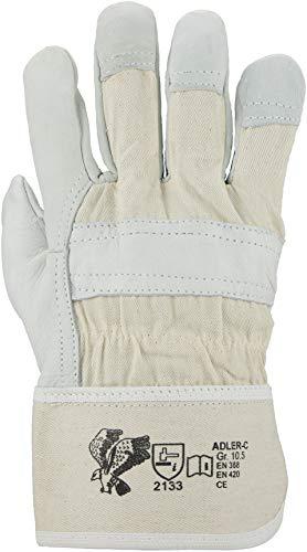 ASATEX Rindnarbenleder-Handschuh ADLER-C9, naturfarben, Gr. 9 (12 Paar)