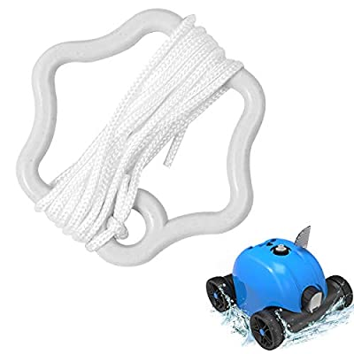 PAXCESS HJ1103 Robotic Automatic Pool Cleaner White Handle Rope for Replacing