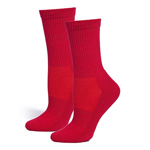 Safersox Mückensocken-Sportsocken Socken - Rot, 35-38