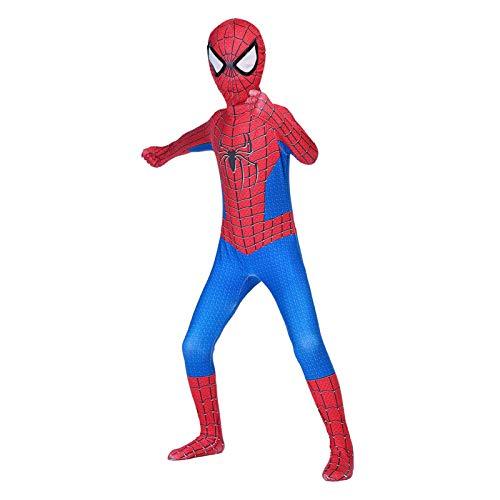 GYMAN Amazing Spider-Man Cosplay Kostüme Kind-Jungen-3D-Druck-Overall Halloween Karneval Superheld Bodysuit Abendkleid-Klage Für Partei Onesies Kostüm,Adult/180~190cm