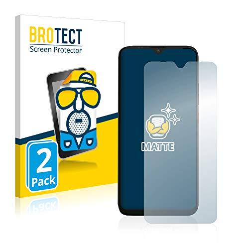BROTECT 2X Entspiegelungs-Schutzfolie kompatibel mit Gigaset GS4 Bildschirmschutz-Folie Matt, Anti-Reflex, Anti-Fingerprint