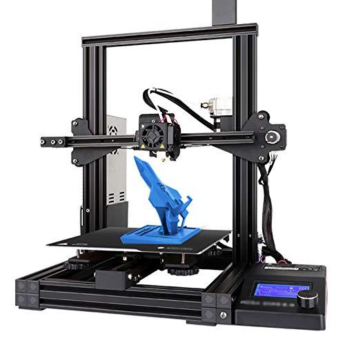 Stampante 3D Mega Zero2.0, Stampante Fai-Da-Te FDM Funziona Riprendi La Funzione Di Stampa Stampa Ad Alta Precisione Dimensioni Di Stampa 220 * 220 * 250 mm Per Hobbisti, Designer, Utenti Domestici