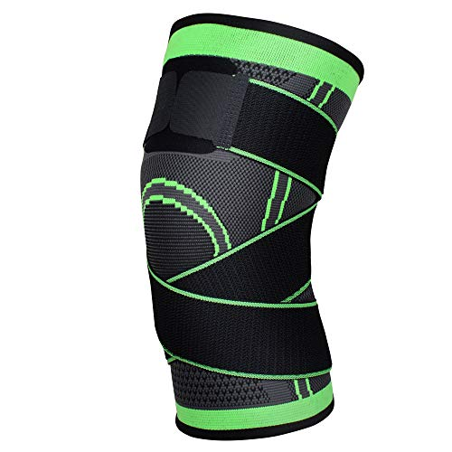 Knee Brace,Patella Support Sleeve with Compression Removable Strap to Meniscus Tear and Arthritis Pain, Post Surgery Recovery, Sports Safety in Running, Cross Fit Training, Basketball, Tennis for Men/Women -Single