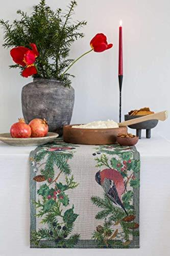 Ekelund Tischläufer Domherre 35 x 80 cm, 100% Baumwolle, Design