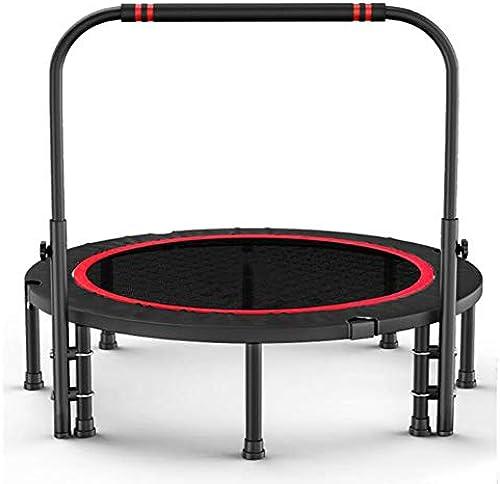 Falten Trampolin Fitness, Trampolin Fitnessstudio Kinder zu Hause im Freien Sprungbett Trampolin Sport Erwachsenengewicht Loss Trampolin