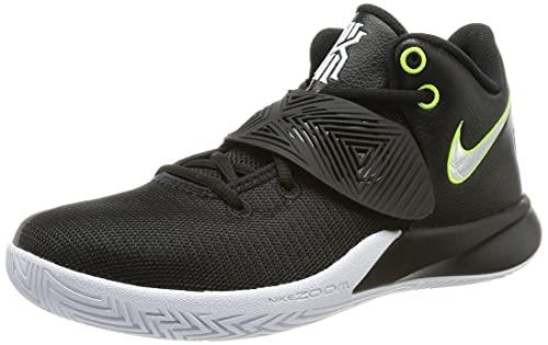 Nike Mens Kyrie Flytrap III Black/White/Volt (10.5)