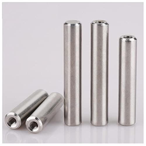 Pin cilíndrico roscado interno, GB120, PIN 304 de posicionamiento de acero inoxidable, PIN fijo-12 * 60 [3pcs]