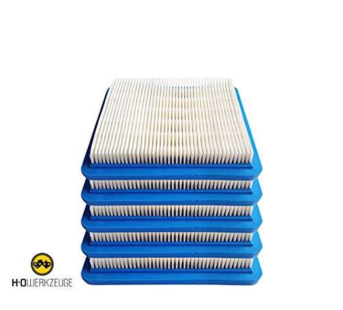 H-O Luftfilter für Briggs Stratton Quantum 491588 491588 4915885 399959 Premium Dauerhafter Ersatzluftfilter passend für Briggs Stratton - EINWEG (5)