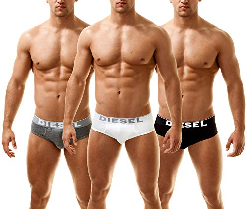 Diesel Brief de Caballero Andre 3 Pack Multi-Grey, policromo XL