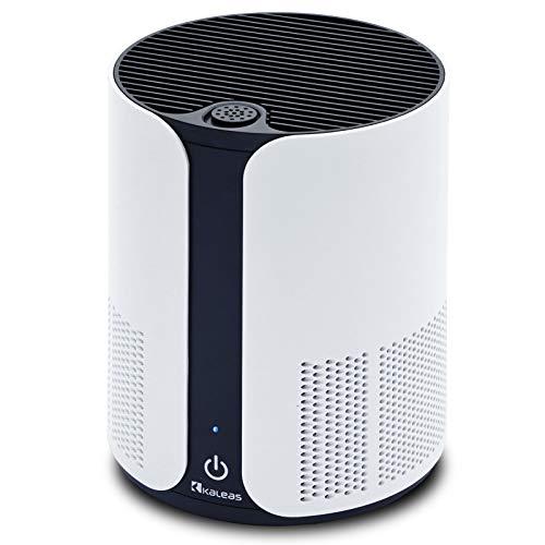Neu Kaleas APF-5 Air Purifier Desktop Luftreiniger Ionisierer HEPA H13 Aktivkohle Filter gegen Hausstaub Feinstaub Pollen Hausstaubmilben Viren Gerüche ideal für Allergiker Asthmatiker (63105)