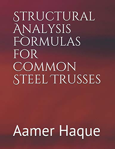 Structural Analysis Formulas for Common Steel Trusses