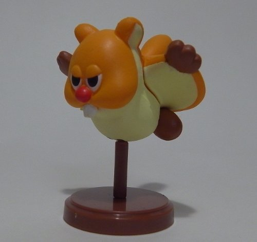Furuta Choco Egg~new Super Mario Bros U Figure ~ Flying squirrel Figurine