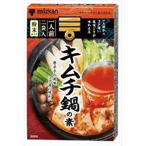 ミツカン キムチ鍋の素 1人前×2袋×10入