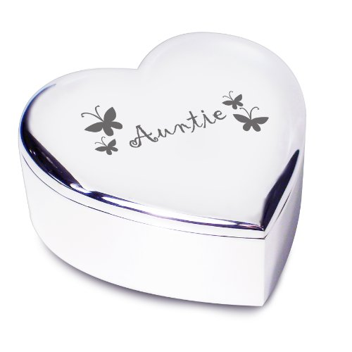 Auntie Heart Trinket. Ideal gifts and presents for weddings, Christenings, Birthdays, Christmas...