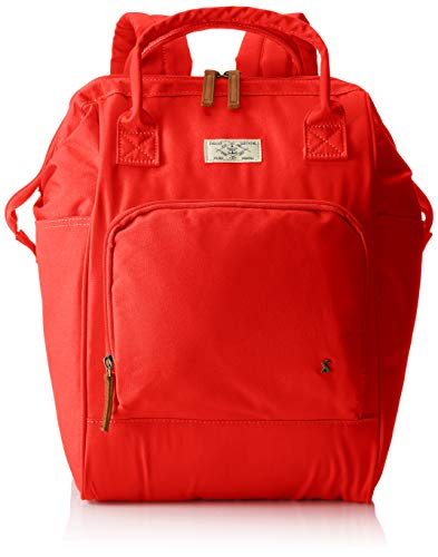 Joules Womens Coast Rucksack Backpack Red (Red)