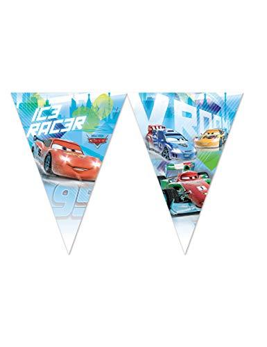 Generique - Fähnchen Girlande Cars Ice Racers