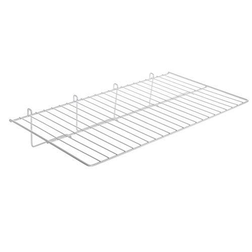 Gridwall Shelf White 23 1/2 x 12