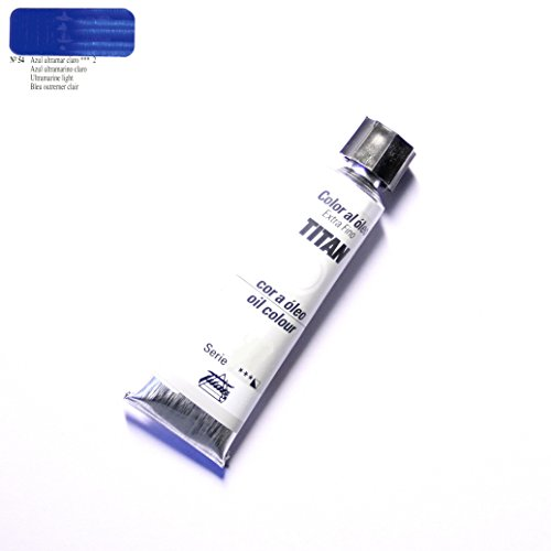 ÓLEO AZUL ULTRAMAR CLARO TITAN Extrafino 10 - 60ml. Nº 54