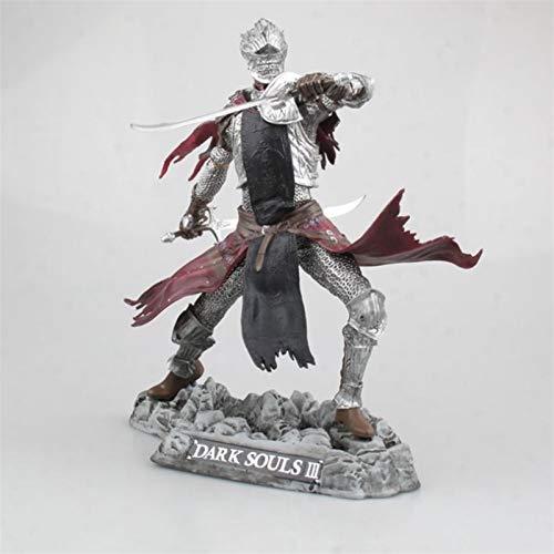 Lihgfw 25 cm / 10 Zoll Anime Spielzeug Dark Souls 3 PS4 Rote Rittersammlerauflage Statue Modell Boxed Figur, Geburtstagsgeschenk für Kinder
