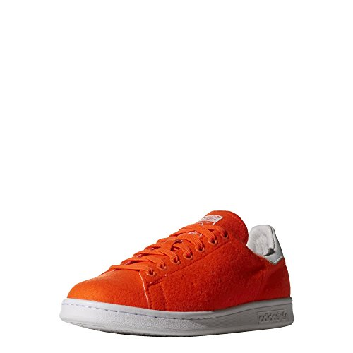 Zapatillas adidas – Pharrell Williams Stan Smith Tns Naranja Neón/Blanco 42 2/3