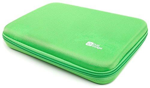 DURAGADGET Custodia Rigida per IROPRO Tablet per Bambini TLK-01 - con Tasca Interna - Verde
