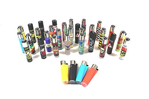CLIPPER Wundertüten Überraschungsmix Collector Mix Clipper Feuerzeuge plus gratis Zugaben (10 Clipper + gratis Clipper Softtouch Feuerzeug)