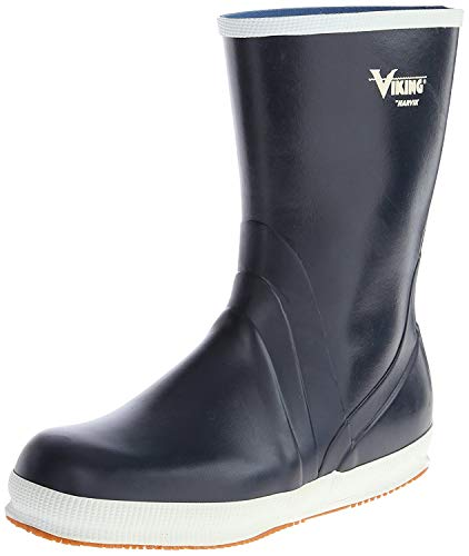 Viking Footwear Mariner Kadett Waterproof Slip-Resistant Boot,Navy,10 M US