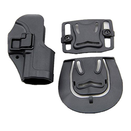H World EU La mano derecha de táctica de serpa rápida revólver casos para h & k USP Compact (negro)