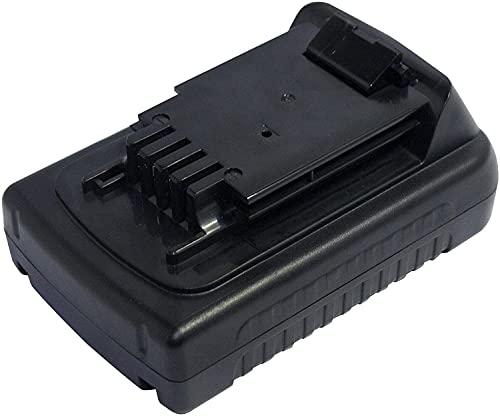 PowerSmart Batteria agli ioni di litio da 1500 mAh, 20 V, per Black & Decker BL186KB, BL186N, BL188, BL188K, BL188KB, BL188N, CHH2220, EPL18, EPL188, EPL188K, EPL188KB
