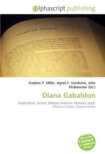 Diana Gabaldon: United States, Author, Mexican American, Romance novel, Historical fiction, Science fiction