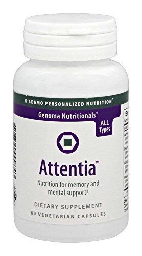 D'Adamo Personalized Nutrition Attentia, 60 Count