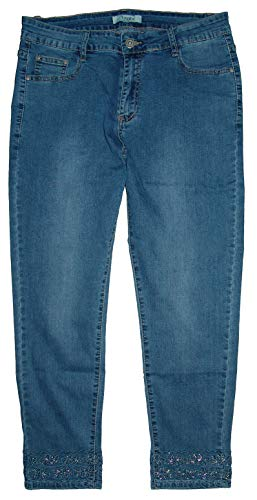 Voggo 7/8 dames stretch jeans broek
