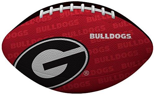 Rawlings NCAA Gridiron Junior-Size Youth Football, Georgia Bulldogs , Red