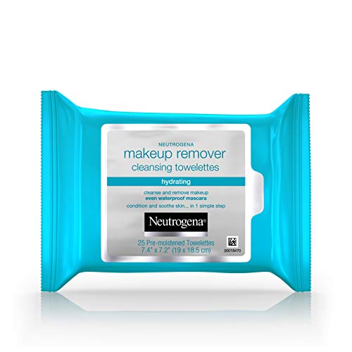 Neutrogena Lingettes démaquillantes hydratantes - 25/paquet