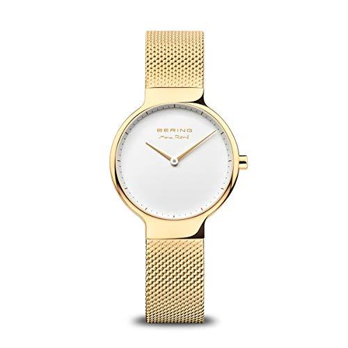 BERING Reloj Analógico Max René Collection para Mujer de Cuarzo con Correa en Acero Inoxidable y Cristal de Zafiro 15531-334