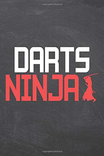 Darts Ninja: Darts Notebook or Journal - Size 6 x 9 - 110 Dot Grid Pages - Office Equipment, Supplies, Gear - Funny Darts Gift Idea for Christmas or Birthday