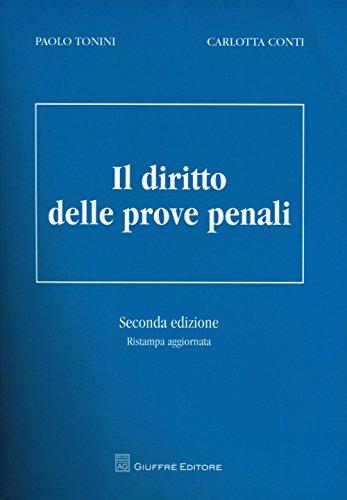 Il diritto delle prove penali